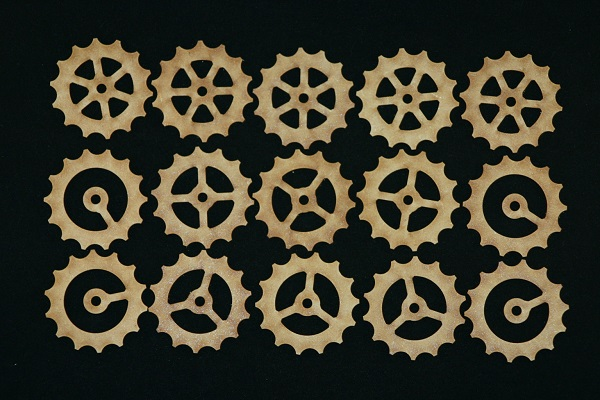15 Mixed cogs - 50mm
