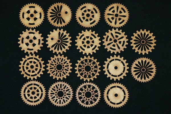 18 mixed cogs - 50mm