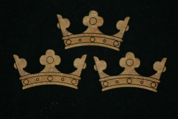 3 small Crowns